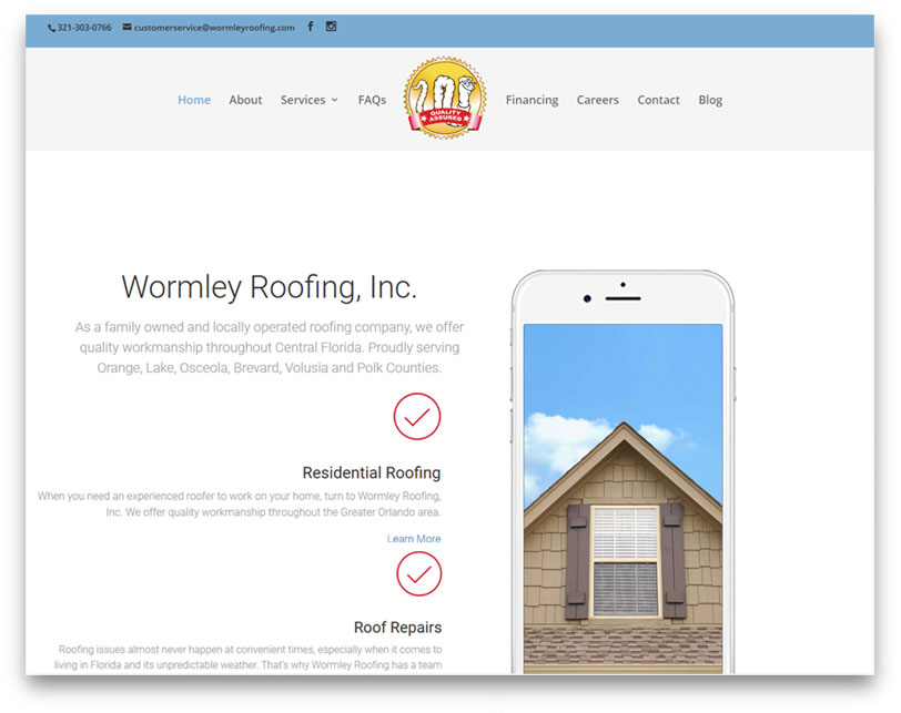Wormley Roofing, Inc.